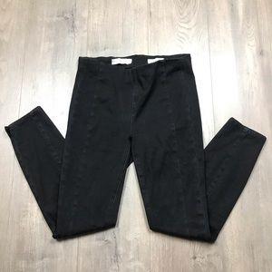 Anthropologie Pilcro Black High Rise Leggings 28